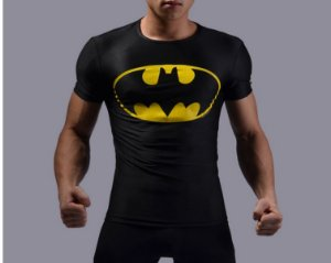 Camiseta Masculina Super-Heróis Modelo 11
