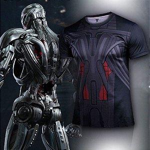 Camiseta Masculina Super-Heróis Modelo 07