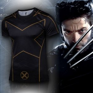 Camiseta Masculina Super-Heróis Modelo 09