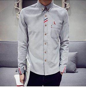 Camisa Masculina Casual Reser Modelo 01