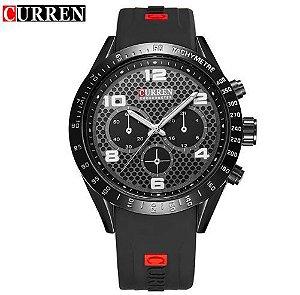 Relógio Masculino Curren Chronometer Army