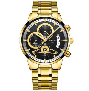 Relógio Masculino Nibosi Stainless