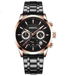 Relógio Masculino Nibosi Stainless Modelo 01