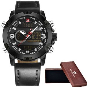 Relógio Masculino Naviforce Display Dual