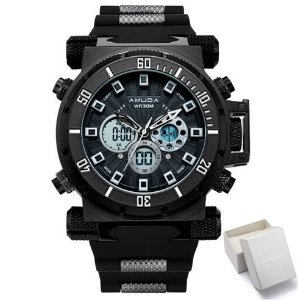 Relógio Masculino Amuda Wristwatches