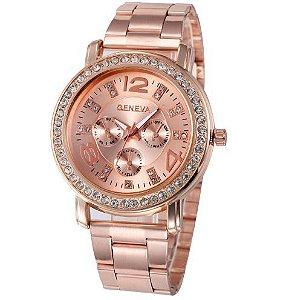 Relógio Feminino Quartz  Geneva