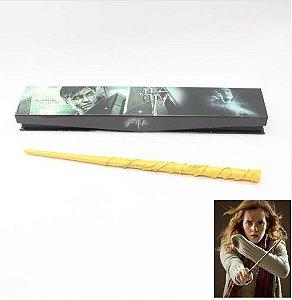 Artigo Colecionável Varinha Harry Potter Hermione Granger