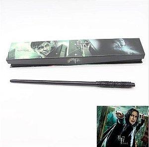 Artigo Colecionável Varinha Harry Potter  Severus Snape
