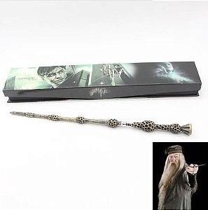Artigo Colecionável Varinha Harry Potter  Prof Dumbledore