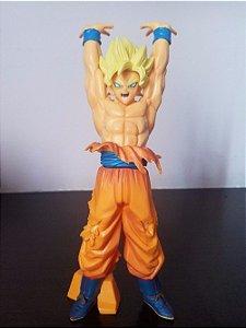 Artigo Colecionável  Dragon Ball Goku Super Sayajin  Modelo 02