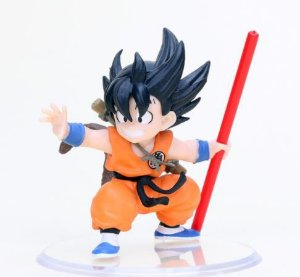 Artigo Colecionável  Dragon Ball Goku Mini