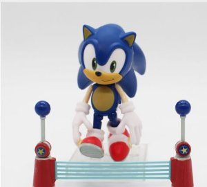 Artigo Colecionável Miniatura Sonic