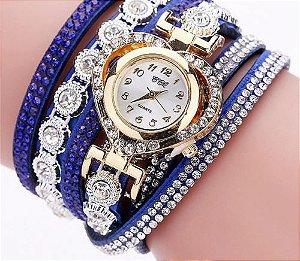 Relógio Feminino Luxo Heart
