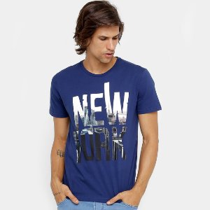 Camiseta Masculina Burn New York Masculina Pronta Entrega