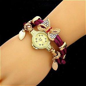 Relógio Feminino Laço Delicado