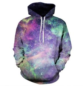 Moletom Masculino Galaxia Modelo 10