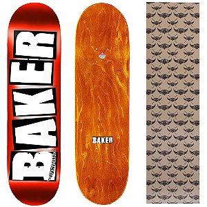Shape Importado Baker Brand 8.25 Foil Vermelho (Grátis lixa Jessup)