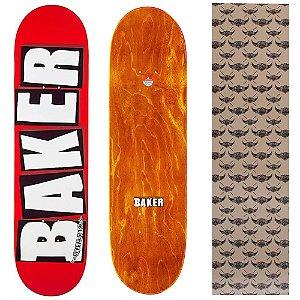 Shape Importado Baker Brand 8.0 Vermelho (Grátis lixa Jessup)