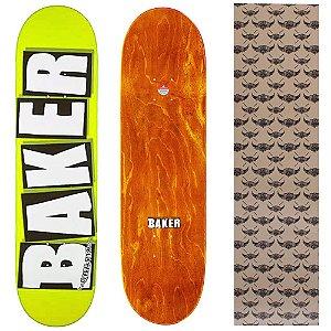 Shape Importado Baker Brand 8.25 Amarelo (Grátis lixa Jessup)