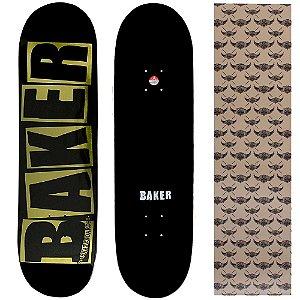 Shape Importado Baker Brand 8.25 Foil Dourado (Grátis lixa Jessup)