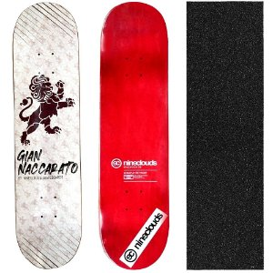 Shape Profissional Maple Skate Nineclouds Gian Naccarato Lion 8.0 (Grátis Lixa Importada)