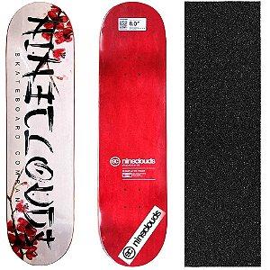 Shape Profissional Maple Skate Nineclouds Nipon 8.0 (Grátis Lixa Importada)