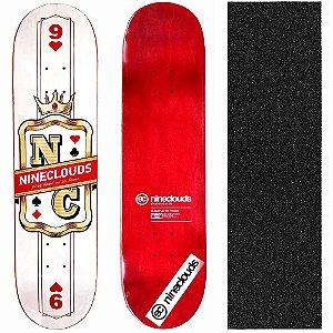 Shape Profissional Maple Skate Nineclouds King 8.0 (Grátis Lixa Importada)