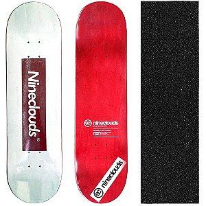 Shape Profissional Maple Skate Nineclouds Tagcenter 8.5 (Grátis Lixa Importada)