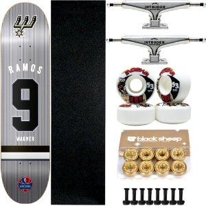 Skate Completo Maple Kronik Wagner Ramos 7.9 + Roda Moska + Truck Intruder