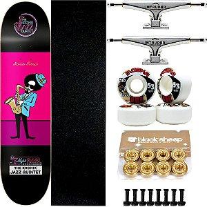 Skate Completo Maple Kronik Formiga Quintet 7.9 + Roda Moska + Truck Intruder