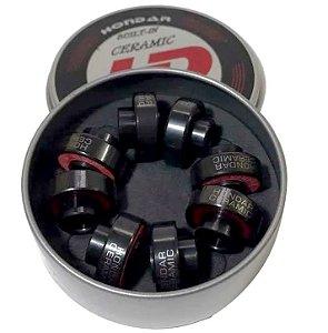 Rolamento Hondar Skate Ceramic Black Original Importado