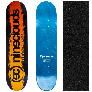 Shape Profissional Maple Skate Nineclouds Fire 8.0 (Grátis Lixa Importada)