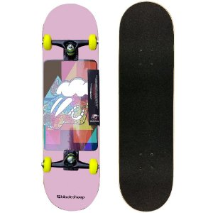 Skate Montado Black Sheep Semi Profissional 8.0 Feminina Pink