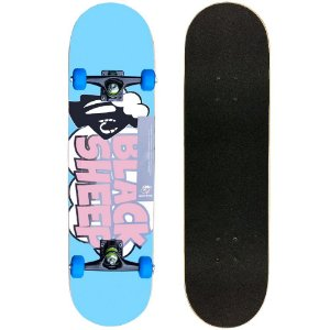 Skate Montado Black Sheep Semi Profissional 8.0 Blue Sheep