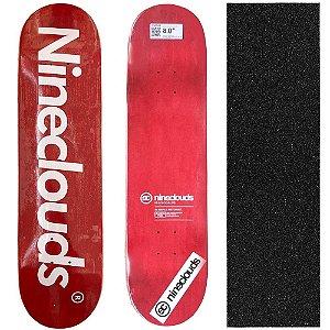 Shape Profissional Maple Skate Nineclouds Redwood 8.0 (Grátis Lixa Importada)