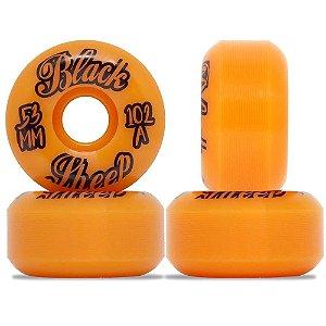 Roda Importada Black Sheep Wheels Orange 53mm 102A ( jogo 4 rodas )