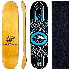 Shape Black Sheep Profissional Black Blue Tag 8.0 + Lixa Grátis