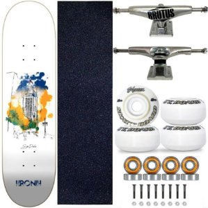 Skate Completo Profissional Shape 8.125 Kronik SP Art Truck 139mm