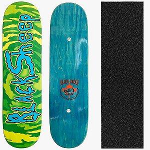 Shape Profissional Maple Skate Black Sheep Rick-Morty 8.0 (Grátis Lixa Importada)
