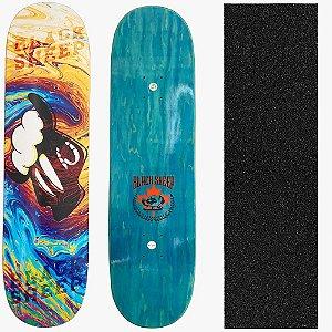 Shape Profissional Maple Skate Black Sheep Colors 8.0 (Grátis Lixa Importada)