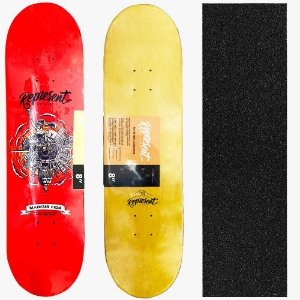 Shape Maple Profissional Represent Skate Marcus Cida 8.0 (Grátis Lixa Importada)