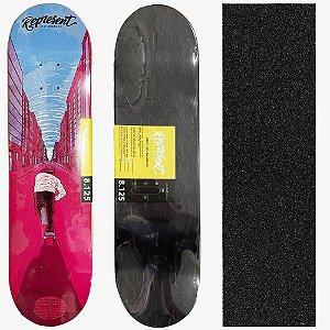 Shape Maple Profissional Represent Skate Pelas Ruas 8.125 (Grátis Lixa Importada)