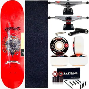 Skate Completo Maple Represent Marcus Cida 8.0 + Truck This Way