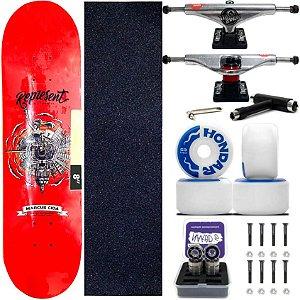 Skate Completo Maple Represent Marcus Cida 8.0 + Rodas Hondar