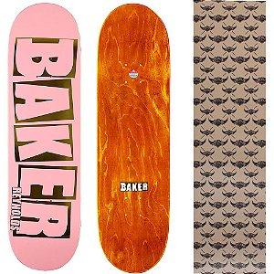 Shape Maple Importado Baker Brand 8.0 Foil Reynolds Pink (Grátis lixa Jessup)