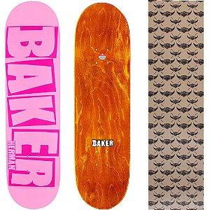 Shape Maple Importado Baker Brand 8.0 Herman Pink (Grátis lixa Jessup)