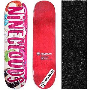 Shape Profissional Maple Skate Nineclouds 8.0 Donuts (Grátis Lixa Importada)
