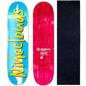 Shape Profissional Maple Skate Nineclouds 8.0 Simpsons (Grátis Lixa Importada)