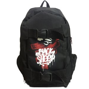 Mochila Black Sheep Army Porta Skate