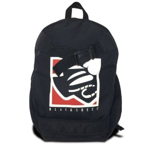 Mochila Black Sheep Porta Skate Laptop